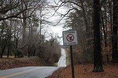 No Littering (sonicimac) Tags: road trees nature rain virginia rainyday view country hill neighborhood hills rainy va gloucester littering hilly rolling nolittering gloucesterva litteringisillegal