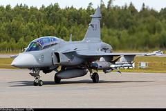 39831 Saab JAS39D Gripen Swedish Air Force (Andreas Eriksson - VstPic) Tags: force air swedish saab gripen 39831 jas39d