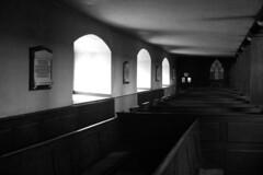 Werburgh Street Church 15 (Dave Road Records) Tags: ireland blackandwhite dublin monochrome shadows churches churchwindow dublincity irishchurch dublinchurch