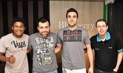 Henik, Robson, Andrei e Ramon