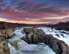 20140119 GreatFalls Va 008 (Dan_Girard_Photography) Tags: nature sunrise landscape va potomacriver 2014 waterscae greatfallswaterfalls dangirardphotography