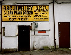 ABC Jewellery & Loan Pawnbrokers (AlainC3) Tags: vancouver ads advertising store commerce bc britishcolumbia jewellery walls mur paintedsign bijouterie colombiebritannique publicite