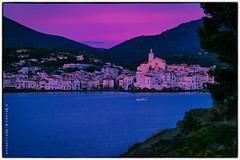 Awakenings (jacobo_gonzalez_castrodeza) Tags: blue light sea luz water colors contrast daylight nikon colores lila jacobo awakenings sealine d40