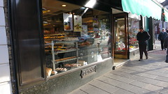 03 - Feb 2014 - Dunns shop of Crouch End Broadway in North London. (RTW501) Tags: streetscenes northlondon crouchendbroadway dunnscaterers