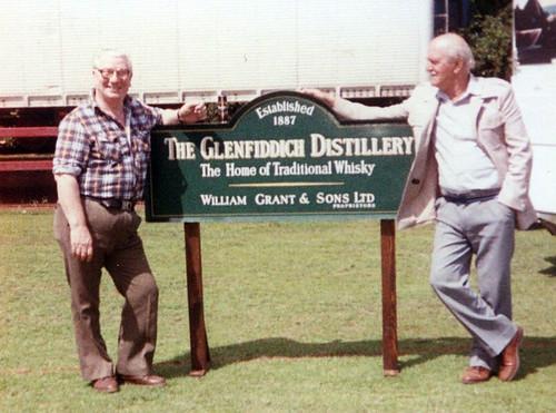 Dick Callannan with Brother Joe 1980s