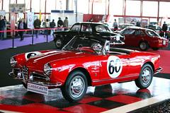 Alfa Romeo Giulietta Spider. Roadster fabricado entre 1955 y 1962.