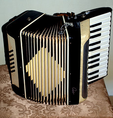 0007726 (Shakies Buddy) Tags: canada keys buttons accordion nb musical instrument 200views squeezebox allrightsreserved nbphoto bellowsdriven