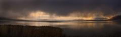 Utah Lake Rain (arbyreed) Tags: panorama rain clouds darkclouds rainclouds utahlake utahcountyutah 4shotstitch arbyreed