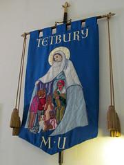 Tetbury - St Mary's Church (pefkosmad) Tags: church interior banner stmaryschurch sundaydrive parishchurch tetbury mothersunion