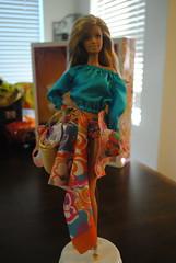 Malibu Barbie Trina Turk (Panix Pix) Tags: face barbie malibu aphrodite mold sculpt 2013 trinaturk