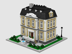 Manor House (moctown) Tags: lego micro manorhouse microscale eurobricks