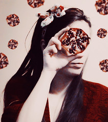 girl with pomegranate (AlinaMariaS) Tags: childlike red
