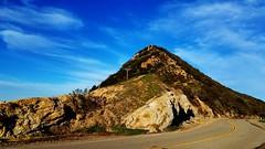 Landscape (Mohammed_Moustafa) Tags: landscape mountain road ways sky bluesky clouds street day sunnyday sunreflection curves rocks rocky stone