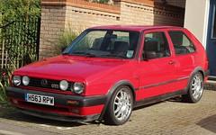 H563 RPW (Nivek.Old.Gold) Tags: 1990 volkswagen golf gti 3door 1781cc