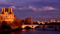 Louvre (phiji75) Tags: printemps paysages paris louvre seine ponts nikon
