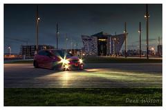Boy Racer's Pride and Joy (D.K.o.w) Tags: boyracer titanicquarter seat custom northernireland nightshoot lights belfast canon7dmkii sigma1020