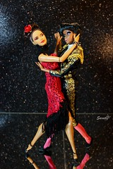 Passionate tango (saratiz) Tags: tango spain barbiepoplife barbiemistycopeland reddress torero shadows