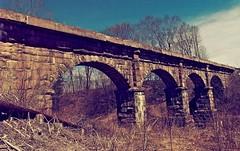 Bernardston Viaduct (Professor Bop) Tags: professorbop drjazz olympusem1 railroad railway bridge viaduct bernardstonmassachusetts mosca
