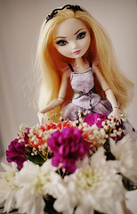 8th of March (lucylacri) Tags: eah ever after high doll mattel apple white flower