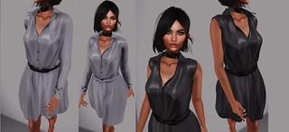 fame femme : Forel Belted Dress @ TRES CHIC <3