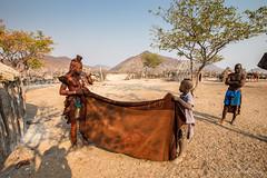 Packing Up 8833 (Ursula in Aus) Tags: africa himba himbavillage namibia otjomazeva