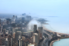 More Rain (jnhPhoto) Tags: jnhphoto chicago chicagoskyline chicagocloudslakemichigancityscape lakemichigan lake lakeshoredrive