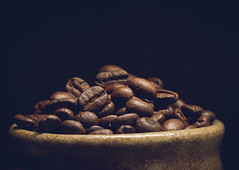 aah coffee (auntneecey) Tags: coffee beans food