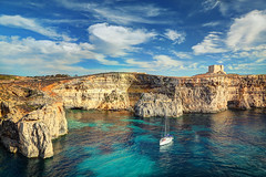 St. Mary's Tower in Comino Island