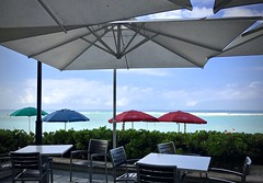 Ready and waiting (kimbar/Thanks for 2.5 million views!) Tags: tables chairs umbrellas ocean pacific restaurant waikiki honolulu oahu hawaii