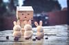 Hot Cross Bunnies. (Matt_Briston) Tags: danbo easter robots bunnies hot cross currants nikon d90 matt cooper briston