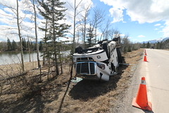 Highway 1A Alberta will be closed from Morley to seebee tomorrow 17th April 2017 (davebloggs007) Tags: highway 1a alberta will be closed from morley seebee tomorrow 17th april 2017