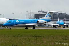 KLM Cityhopper Fokker 70     PH-KZU     Amsterdam Schiphol - EHAM (Melvin Debono) Tags: klm cityhopper fokker 70   phkzu amsterdam schiphol eham melvin debono spotting canon 7d 600d plane planes airport airplane aviation aircraft netherlands holland