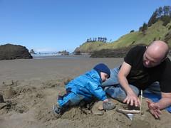 baby godzilla (carolyn_in_oregon) Tags: crescentbeach cannonbeach pacificocean ecolastatepark coast al allie jacob