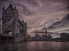 Tower Bridge (silvershelf007) Tags: london buildings building tower skyscraper bridge thames river uk hdr towerbridge capital bridges england water city iconic