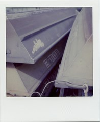 Nautical Abstract (Bravo213) Tags: nautical abstract nude naked bare sx70 impossibleproject boats polaroid