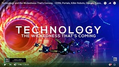 Technology and the Wickedness That's Coming - CERN, Portals, Killer Robots, Drones, Transhumanism (Don't Let Them Burn) Tags: instagramapp square squareformat iphoneography uploaded:by=instagram christian gospel entertainment technology exposed music movies videogames truth scripture love like gmo hell instadaily follow photooftheday motivation magic dontletthemburn endtimes devotion encouragement god jesus robots virtualreality drones happiness occult