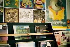 Smugglers Records - Deal, Kent (35mm) (jcbkk1956) Tags: records lps music analog shop smugglers deal kent posters covers vinyl pentax p30 film 35mm agfa200 manualfocus pinkfloyd darksideofthemoon worldtrekker