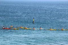 Escuela de Kayak de Ceuta. (anyera2015) Tags: ceuta canon canon70d kayak escueladekayakdeceuta escueladekayak mar ribera