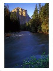 postcard - Yosemite, El Capitan (Jassy-50) Tags: postcard yosemitenationalpark yosemite nationalpark park unescoworldheritagesite unescoworldheritage unesco worldheritagesite worldheritage whs mercedriver river mountain elcapitan rock yosemitevalley valley mist