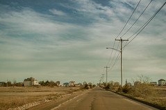 Gloomy Road (William Chils) Tags: gloomy road beach shoreline east haven ct bule skys chill vibes awesome cold cool