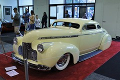 2017 Grand National Roadster Show (USautos98) Tags: 1940 chevrolet chevy specialdeluxe leadsled traditionalhotrod streetrod kustom grandnationalroadstershow gnrs pomona california
