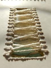 (Landanna) Tags: embroidery embroideryonpaper borduren bordurenoppapier broderi broderipåpapir handmade design paperwork binding needlework