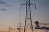 electricity pylons 01 (imagescotdotcom) Tags: energy power lines sustainable supply urban lothians midlothian central belt scottish scotland