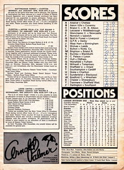 Everton vs Manchester United - 1977 - Page 15 (The Sky Strikers) Tags: everton manchester united football league divsion one goodison park programme 15p