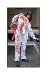 Halal Meat Delivery, East London, England. (Joseph O'Malley64) Tags: butcherydelivery halal halalfood meat halalmeat eastlondon eastend london england uk britain british greatbritain butchers butchery food delivery fooddelivery