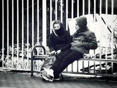 Мразь | The Scum (platonbee) Tags: люди двое пара парочка он она ссора чернобелое монохром москва россия юноша девушка уличнаяфотография улица уличнаясъемка people couple girl boy guys streetphotography streetphoto street streetlife blackandwhite blackwhite bnw bw blancoynegro noiretblanc monochrome he she quarrel moscow russia nikonphoto nikonphotography nikoncoolpix nikon