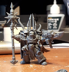 WIP Terminator Sorcerer (Southpaw90) Tags: chaos chaosspacemarines sorcerer calth conversion terminator kitbash warhammer warhammer40000 warhammer40k 40k 30k chaosdaemons