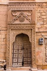 V jaisalmerské pevnosti (zcesty) Tags: indie21 dveře rajastan jaisalmer indie dosvěta rajasthan india in
