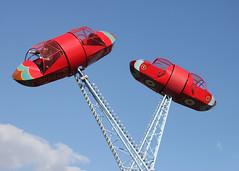 I Believe I Can Fly (ƒliçkrwåy) Tags: cobham carters fair steam divebomber fun entertainment childhood