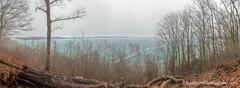 Big Glen Lake ... green ice (Ken Scott) Tags: inspirationpoint ice greenwater fog panorama leelanau michigan usa 2017 march spring 45thparallel fhdr kenscott kenscottphotography kenscottphotographycom freshwater greatlakes lakemichigan sbdnl sleepingbeardunenationallakeshore voted mostbeautifulplaceinamerica